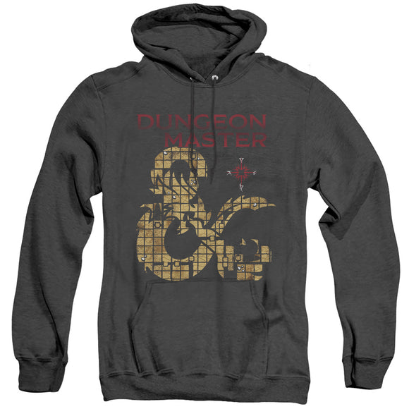 MEN'S DUNGEONS AND DRAGONS DUNGEON MASTER HEATHER PULLOVER HOODIE