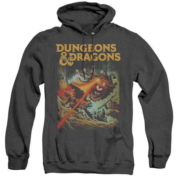 MEN'S DUNGEONS AND DRAGONS BEHOLDER STRIKE HEATHER PULLOVER HOODIE