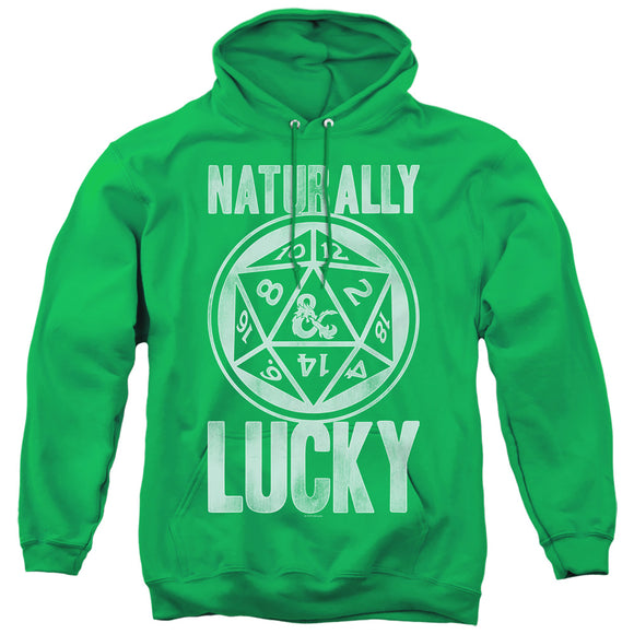 MEN'S DUNGEONS AND DRAGONS NATURALLY LUCKY PULLOVER HOODIE