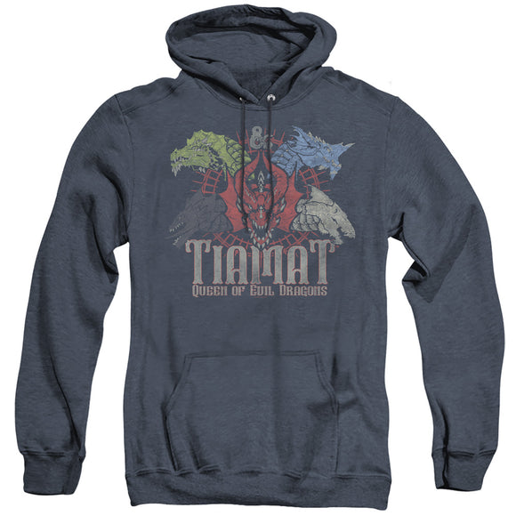 MEN'S DUNGEONS AND DRAGONS TIAMAT QUEEN OF EVIL HEATHER PULLOVER HOODIE