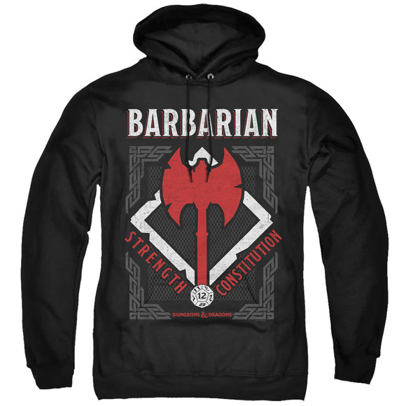 MEN'S DUNGEONS AND DRAGONS BARBARIAN PULLOVER HOODIE