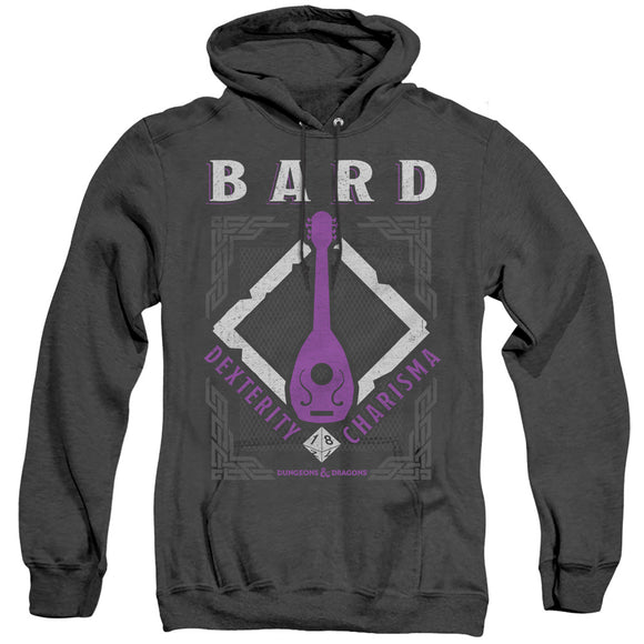 MEN'S DUNGEONS AND DRAGONS BARD HEATHER PULLOVER HOODIE