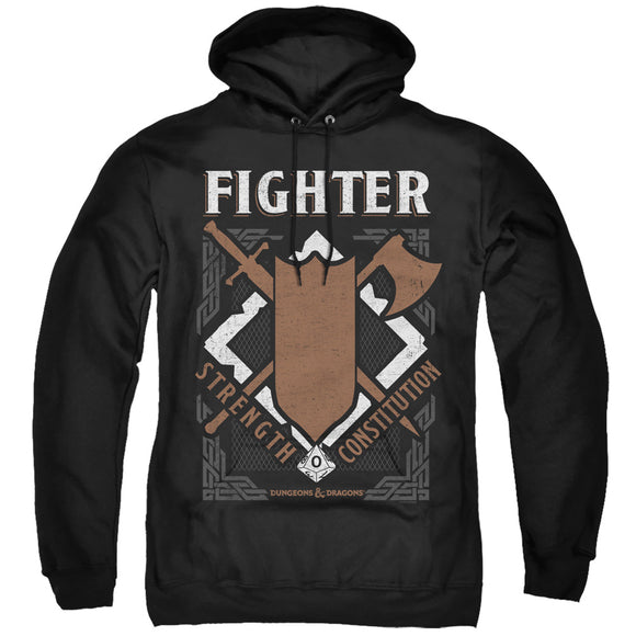 MEN'S DUNGEONS AND DRAGONS FIGHTER PULLOVER HOODIE