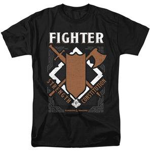 MEN'S DUNGEONS AND DRAGONS FIGHTER TEE