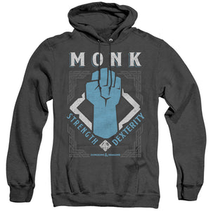 MEN'S DUNGEONS AND DRAGONS MONK HEATHER PULLOVER HOODIE