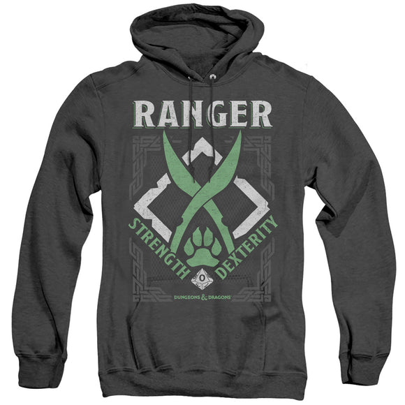 MEN'S DUNGEONS AND DRAGONS RANGER HEATHER PULLOVER HOODIE