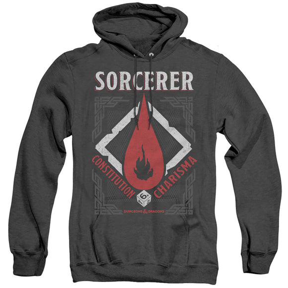MEN'S DUNGEONS AND DRAGONS SORCERER HEATHER PULLOVER HOODIE