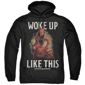 MEN'S DUNGEONS AND DRAGONS WOKE LIKE THIS PULLOVER HOODIE