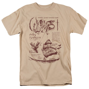 MEN'S DUNGEONS AND DRAGONS MONSTER ANATOMY CHART TEE
