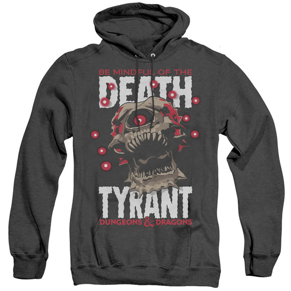 MEN'S DUNGEONS AND DRAGONS DEATH TYRANT HEATHER PULLOVER HOODIE