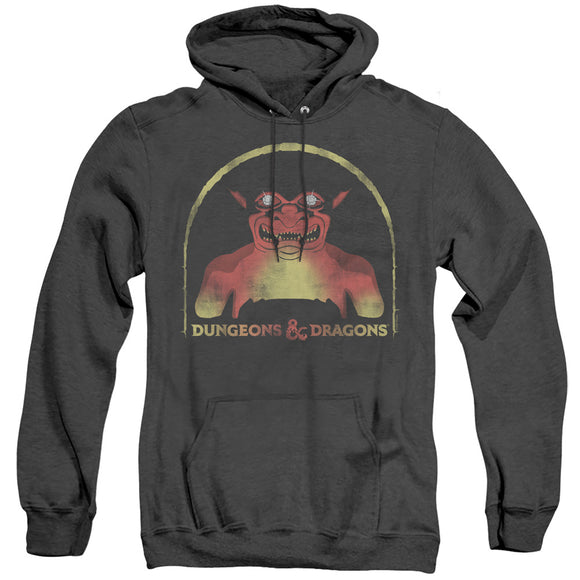 MEN'S DUNGEONS AND DRAGONS OLD SCHOOL HEATHER PULLOVER HOODIE