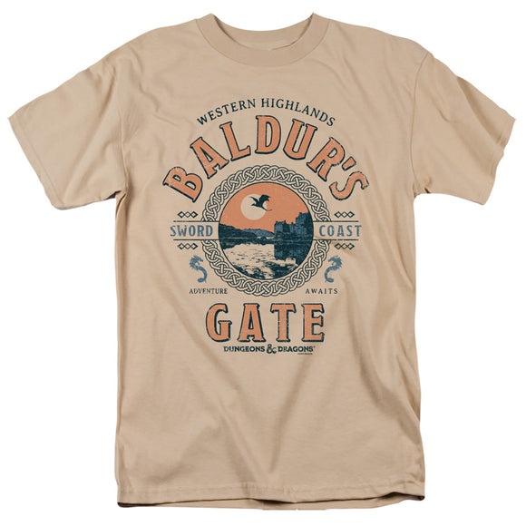 MEN'S DUNGEONS AND DRAGONS BALDURS GATE RESORT TEE