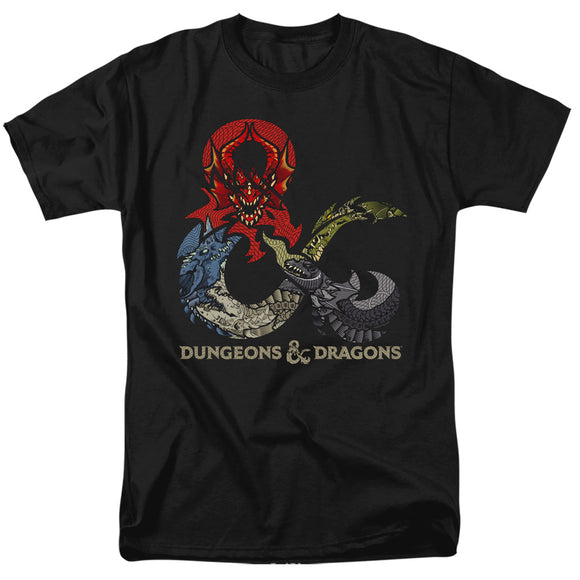 MEN'S DUNGEONS AND DRAGONS - DRAGONS IN DRAGONS TEE