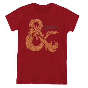 MEN'S DUNGEONS AND DRAGONS DICEY AMPERSAND TEE