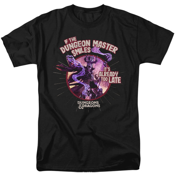 MEN'S DUNGEONS AND DRAGONS DUNGEON MASTER SMILES TEE