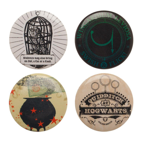 HARRY POTTER BUTTON SET - Blue Culture Tees