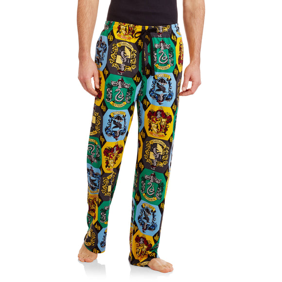 MEN'S HARRY POTTER ALL OVER PRINTED SLEEP PANT - Blue Culture Tees