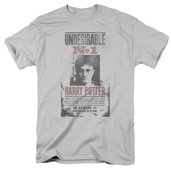 MEN'S HARRY POTTER UNDESIRABLE NO. 1 DISTRESSED TEE