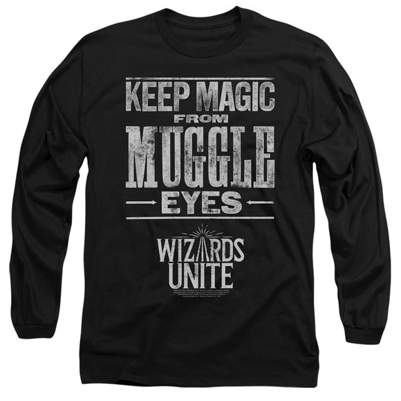 MEN'S HARRY POTTER WIZARDS UNITE HIDDEN MAGIC LONG SLEEVE TEE