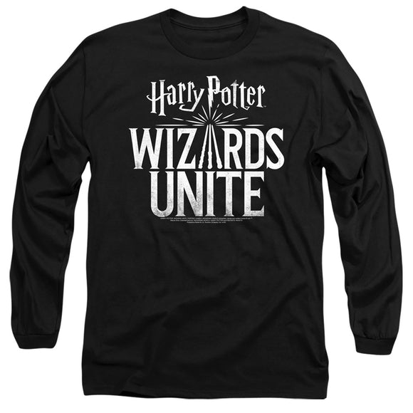 MEN'S HARRY POTTER WIZARDS UNITE LOGO LONG SLEEVE TEE
