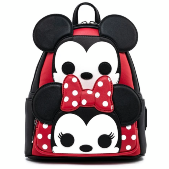 Funko Pop! by Loungefly Disney Mickey and Minnie Cosplay Mini Backpack