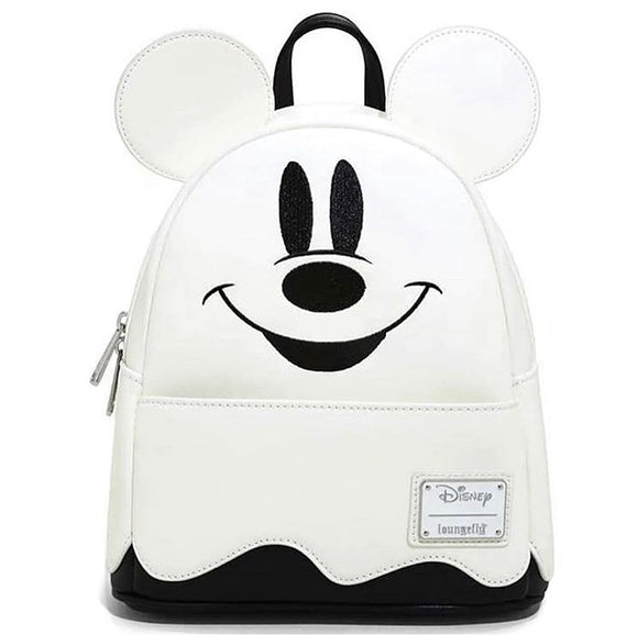 LOUNGEFLY DISNEY GHOST MICKEY HALLOWEEN MINI BACKPACK