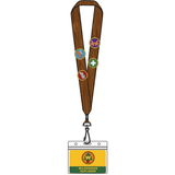 Loungefly Disney Up Wilderness Explorer Lanyard with 4 Enamel Pins