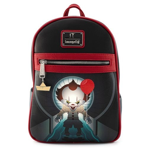 LOUNGEFLY IT PENNYWISE SEWER SCENE BACKPACK