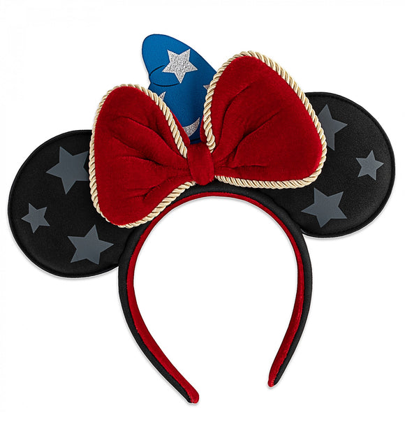 LOUNGEFLY DISNEY MICKEY FANTASIA EARS - PREORDER