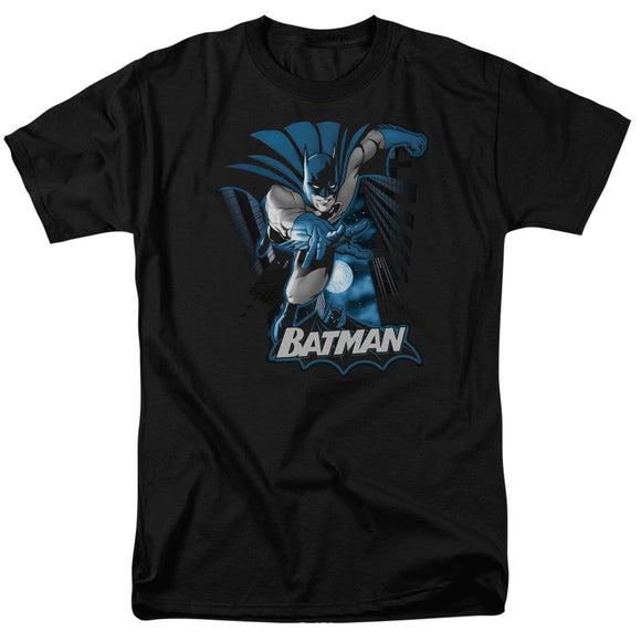 Men's Batman Batman Blue & Gray Tee
