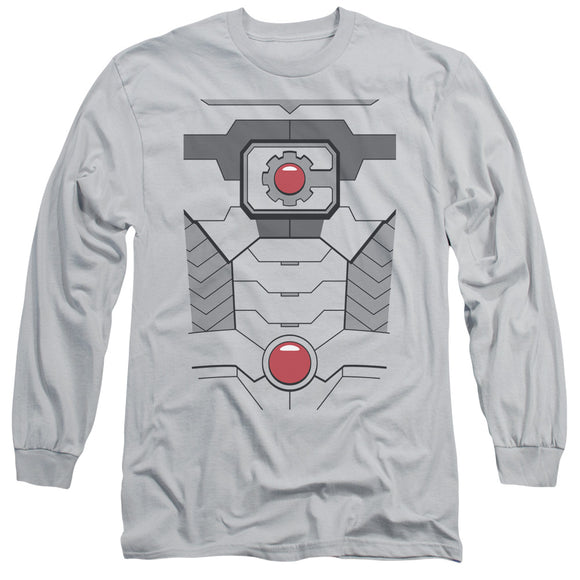 MEN'S DC COMICS CYBORG UNIFORM LONG SLEEVE TEE