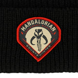 Star Wars The Mandalorian Patch Beanie