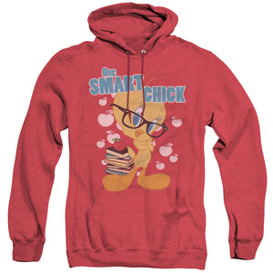 MEN'S LOONEY TUNES ONE SMART CHICK HEATHER PULLOVER HOODIE