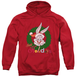 MEN'S LOONEY TUNES HOLIDAY BUNNY PULLOVER HOODIE
