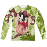 MEN'S LOONEY TUNES TAZ SUBLIMATED LONG SLEEVE TEE
