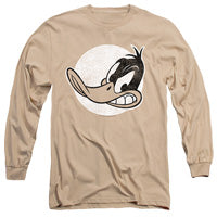 MEN'S LOONEY TUNES DAFFY VINTAGE BADGE LONG SLEEVE TEE