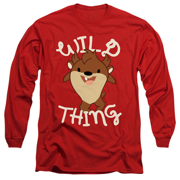 MEN'S LOONEY TUNES WILD THING KID LONG SLEEVE TEE