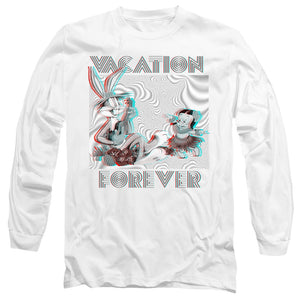 MEN'S LOONEY TUNES VACATION FOREVER LONG SLEEVE TEE