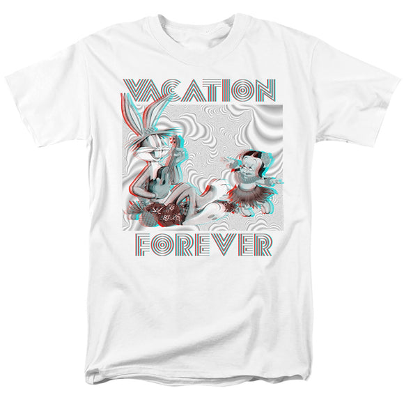 MEN'S LOONEY TUNES VACATION FOREVER TEE