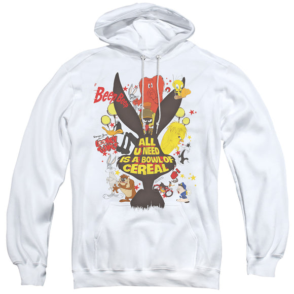 MEN'S LOONEY TUNES CEREAL PULLOVER HOODIE