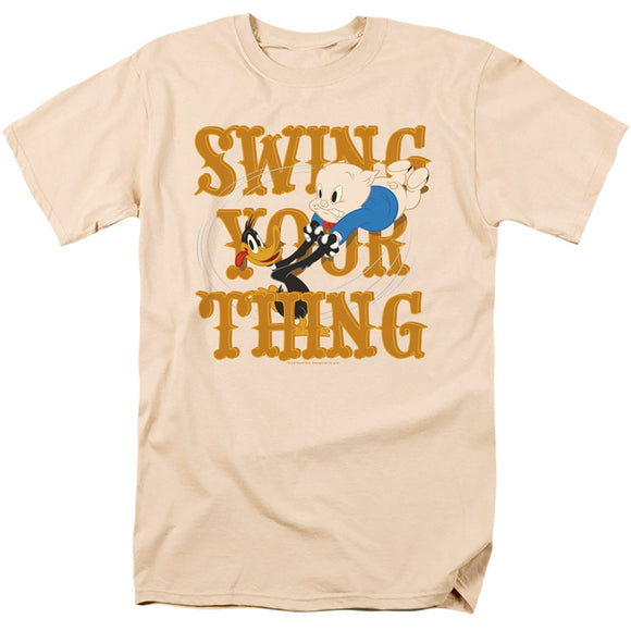 MEN'S LOONEY TUNES SWING YOUR THING TEE