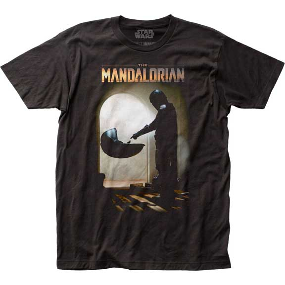 Men's Star Wars The Mandalorian Mando Meets The Child Tee