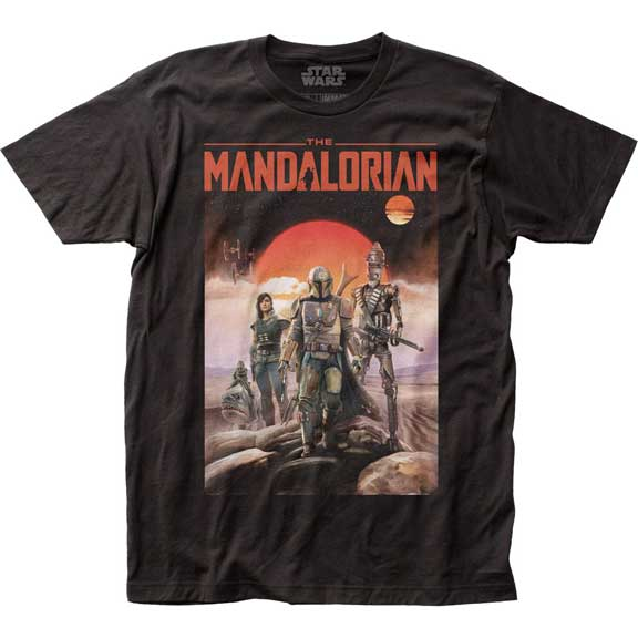 Men's Star Wars The Mandalorian Poster Tee