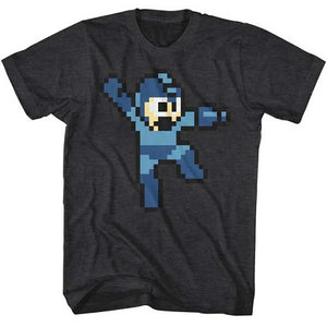 MEN'S MEGA MAN JUMPMAN LIGHTWEIGHT TEE - Blue Culture Tees