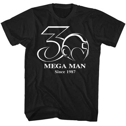 MEN'S MEGA MAN 30TH BW TEE - Blue Culture Tees