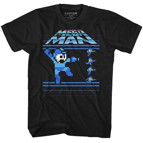 MEN'S MEGA MAN MEGAMEN TEE - Blue Culture Tees