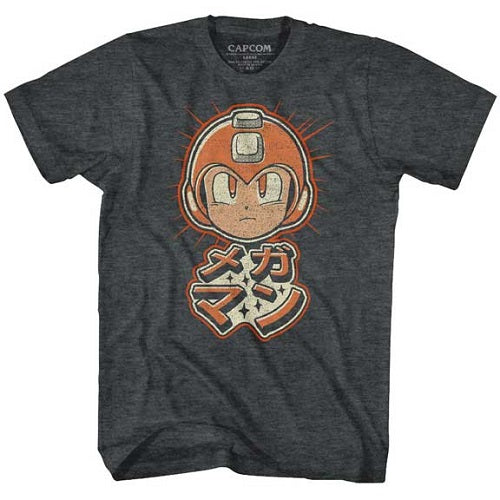 MEN'S MEGA MAN MEGA RETRO LIGHTWEIGHT TEE - Blue Culture Tees