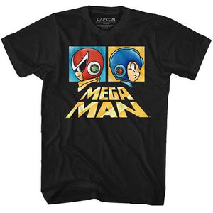 MEN'S MEGA MAN BOXY TEE - Blue Culture Tees