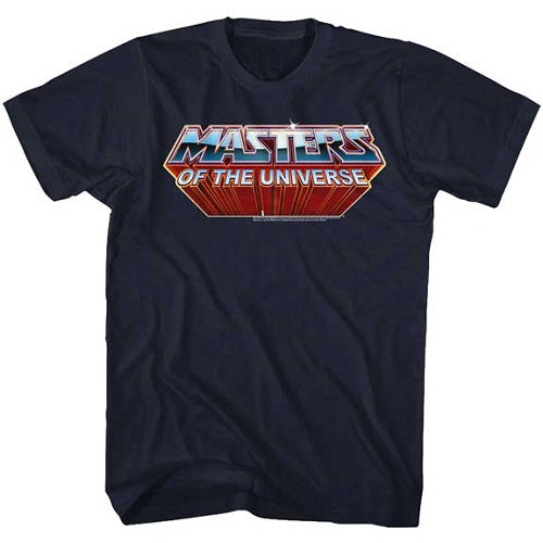 MEN'S MASTERS OF THE UNIVERSE LOGO LIGHTWEIGHT TEE - Blue Culture Tees