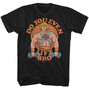 MEN'S MASTERS OF THE UNIVERSE U EVEN LIFT? TEE - Blue Culture Tees